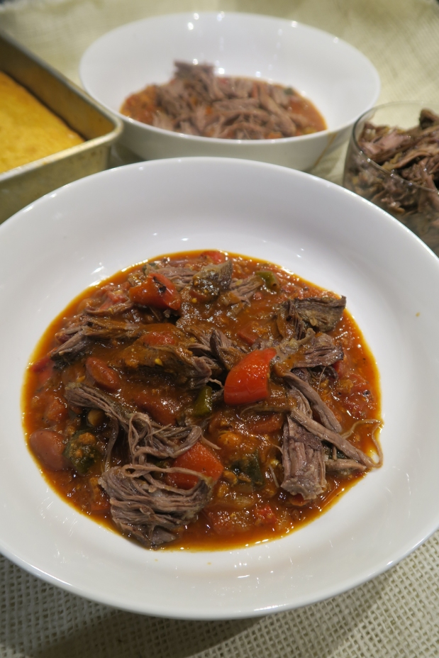 Chili with Beer Braised ShortRibs