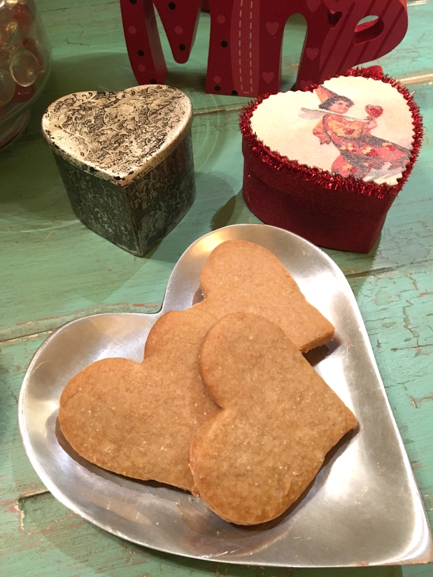 Heart Shaped Spice Cookies