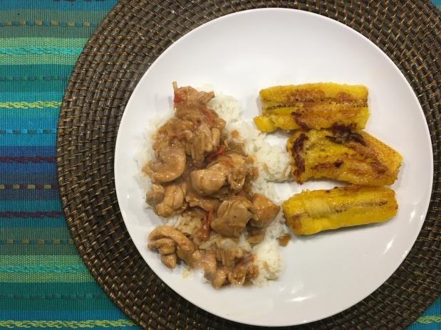 Caribbean Peanut Chicken