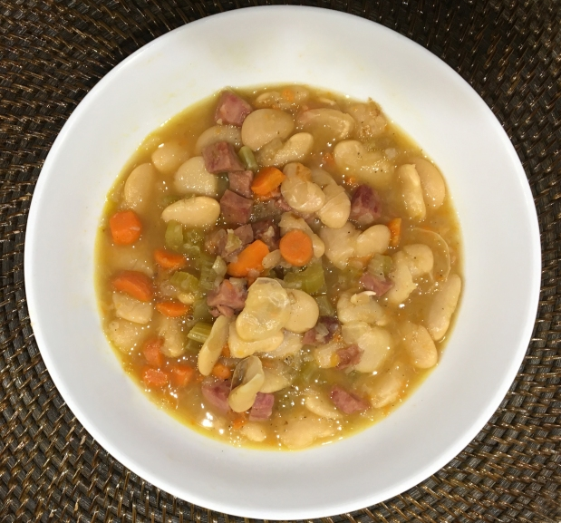 Crock Pot Lima Bean Soup
