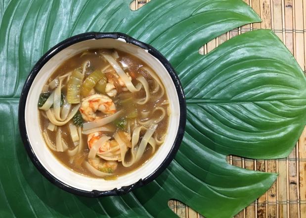 Shrimp Pho (faux) NoodleSoup