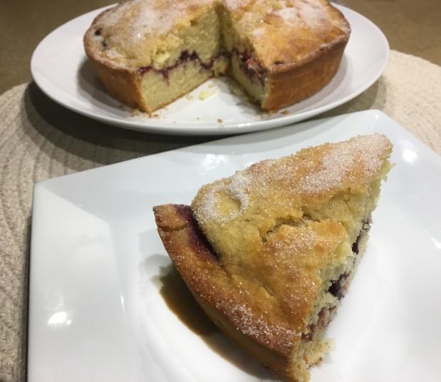 Jelly Doughnut Cake