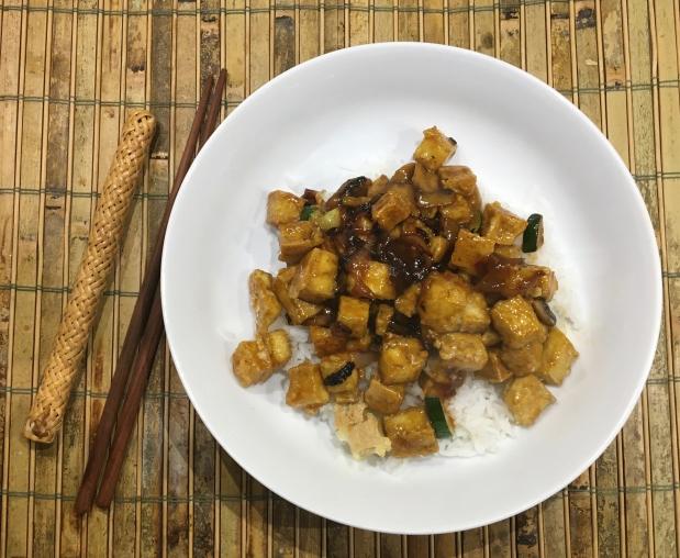 Crunchy Orange Tofu